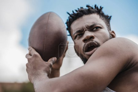 Male football player