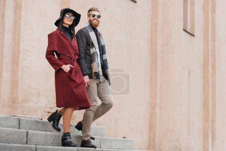 stylish couple