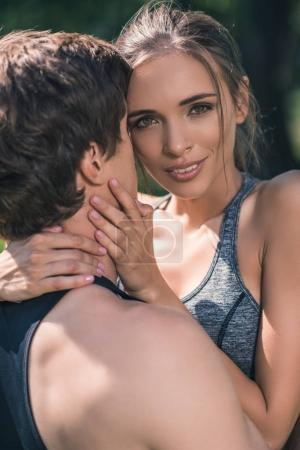 couple hugging each other