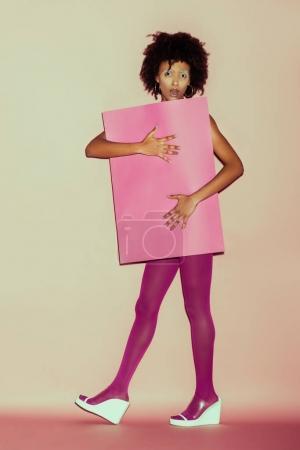 African american 80s girl