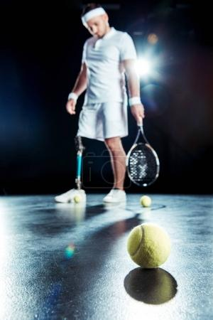 Paralympic tennis player
