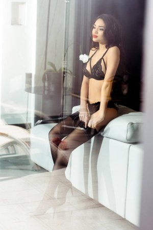 girl in sexy lingerie