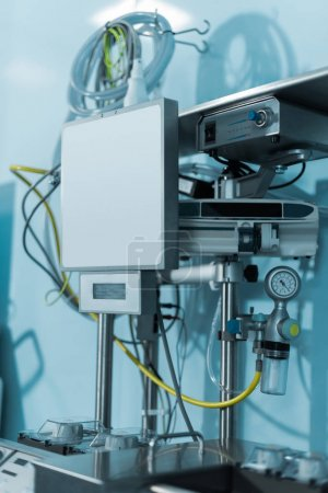modern medical equipment in surgery room