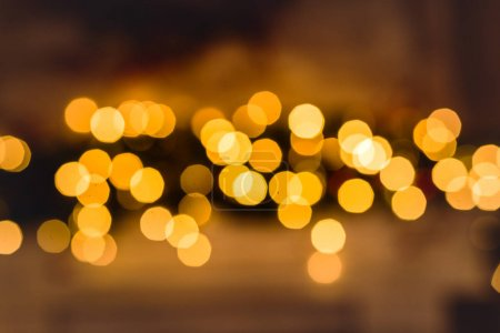 Photo for Festive abstract bokeh christmas background - Royalty Free Image