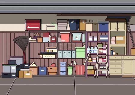 A Clutter Garage