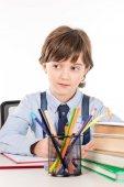 školák dělat domácí úkoly