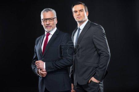 Two confident businessmen