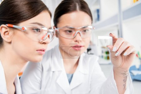 Young female scientists