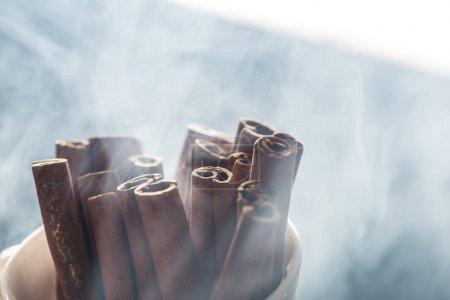 Aromatic cinnamon sticks