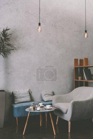 Modern cozy cafe