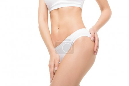 Perfect woman's body