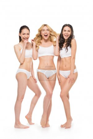 Young women in lingerie