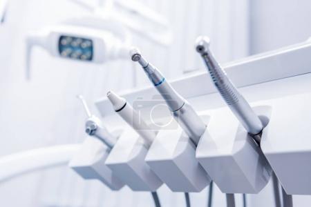 Various dental drills