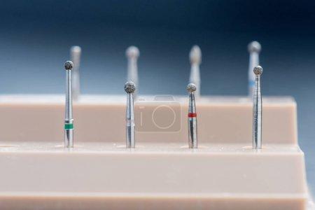 Headers for dental polishing