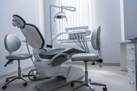 Empty dentist office