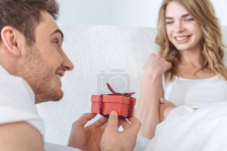 Presenting gift box