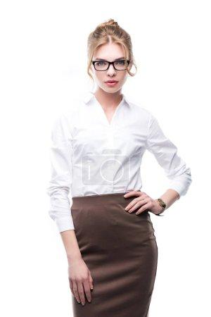 Businesswoman in formal wear