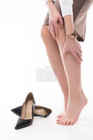 Female legs and heels