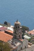 Bell tower Church St. Giacomo, Furore village