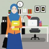 Women Office Worker