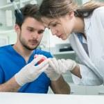 Dental prosthesis, dentures, prosthetics work. Pro...