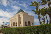The Mausoleum of Mohammed V in Rabat, Morocco.