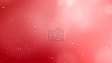 Photo for Valentines Day red abstract background and love concept. Glittering light elements with bokeh decorations design for romantic background. Product presentation, wedding celebration backdrop design. - Royalty Free Image